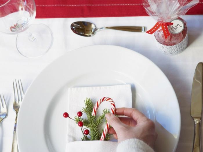 assiette de Noël idée déco