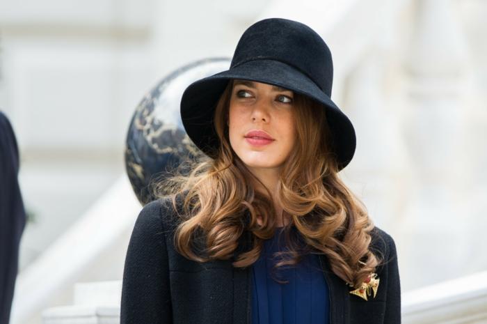 chapeau en feutre chapeau femme hiver modèle cloche