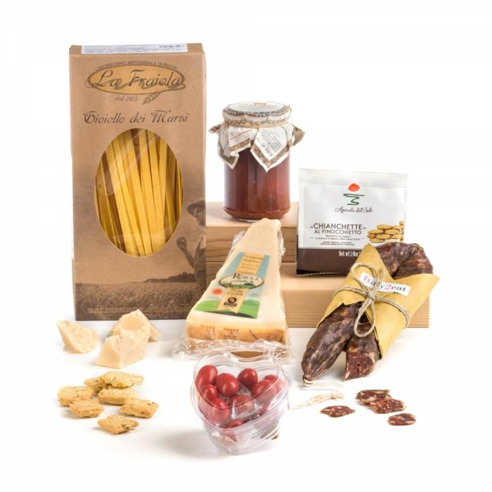 cuisine italienne idée cadeau gourmand pour noël