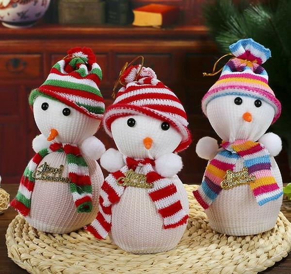 déco table noël à fabriquer bonhomme de neige en chaussette