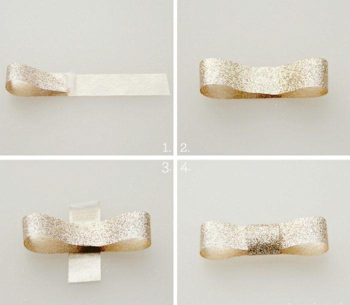 décoration cadeau avec du washi tape emballer un cadeau