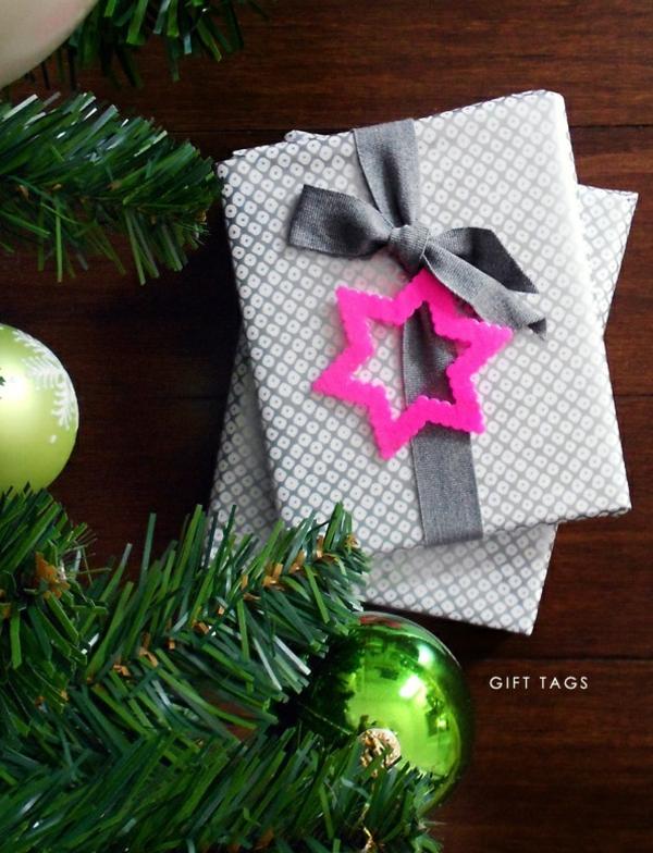 diy déco emballage de cadeau en perles à repasser