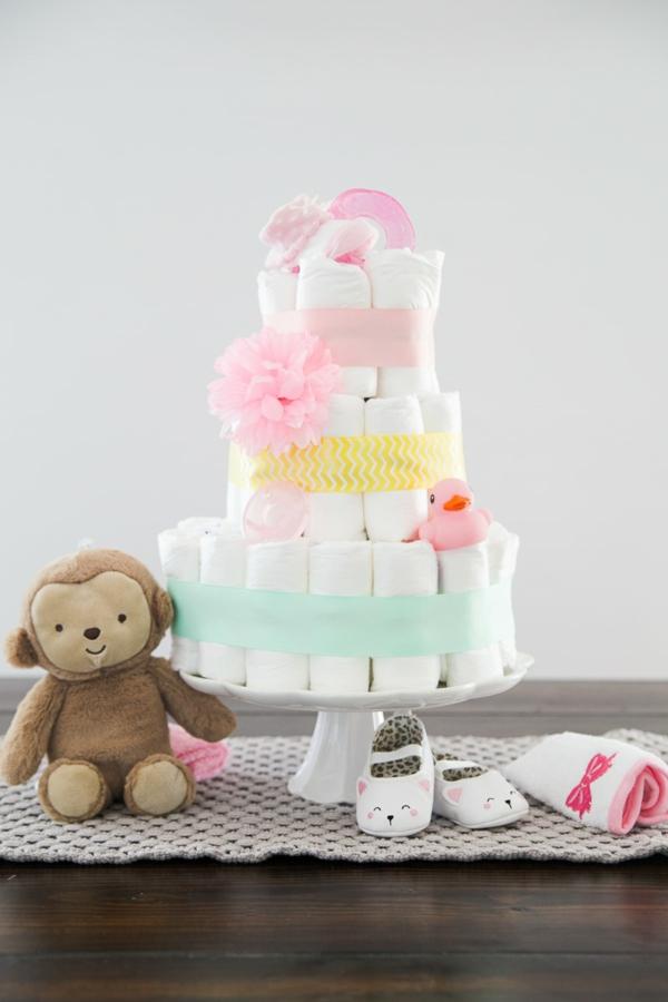 diy gâteau de couches à 3 niveaux