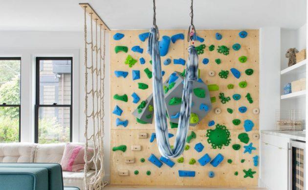 diy mur d'escalade pour enfants
