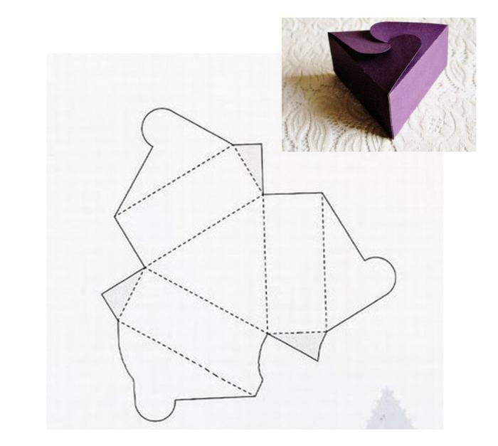 emballer un cadeau avec du papier carton