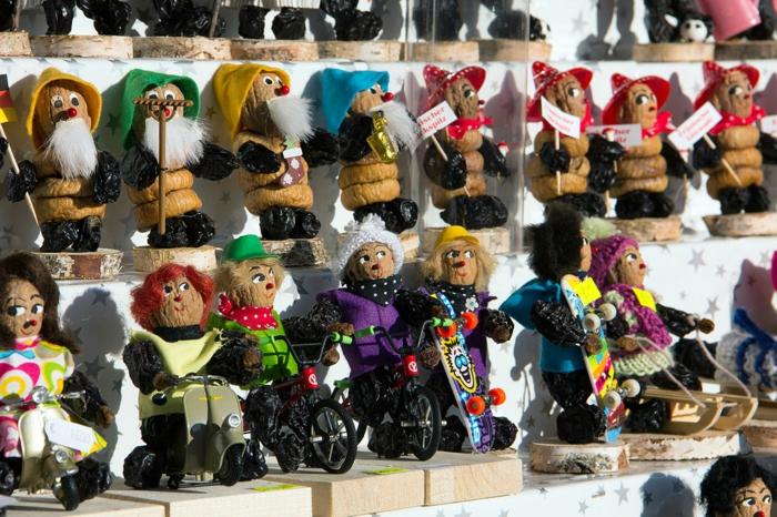 figurines à partir de pruneaux Zwetschgenmännle les plus beaux marchés de noël