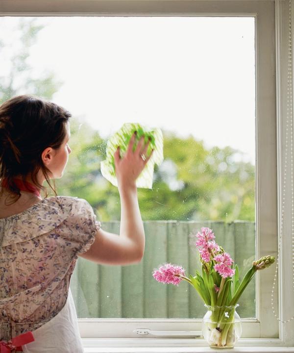 humidité condensation moisissure essuyer la condensation sur les vitres des fenêtres