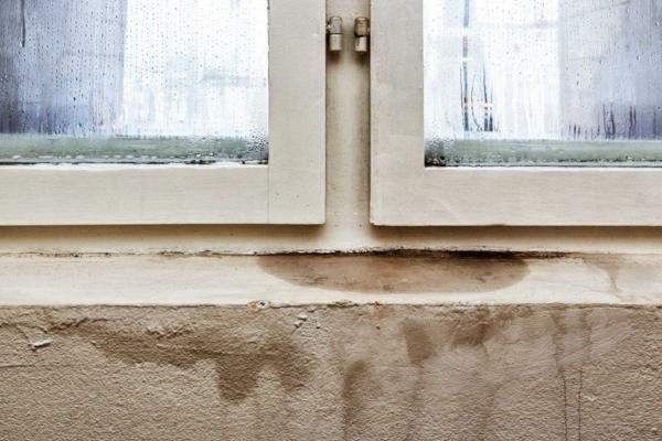 humidité condensation moisissure humidité sous les fenêtres