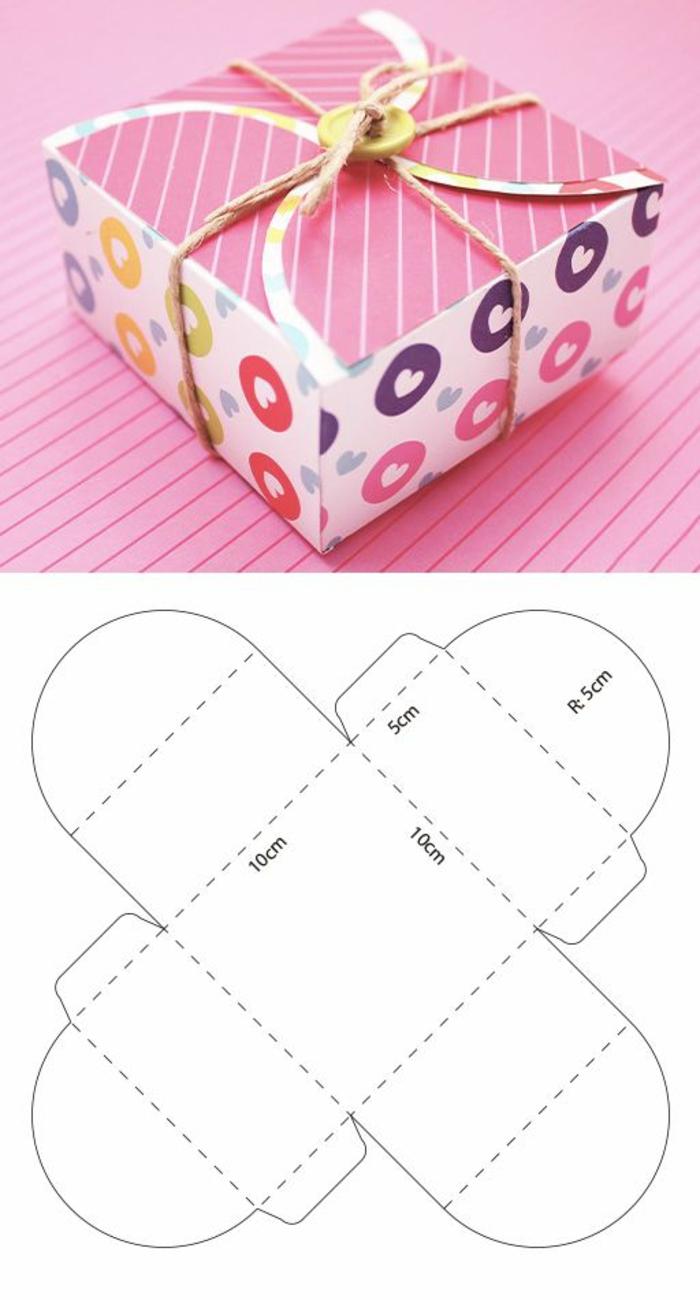 idée boîte cadeau pour emballer un cadeau
