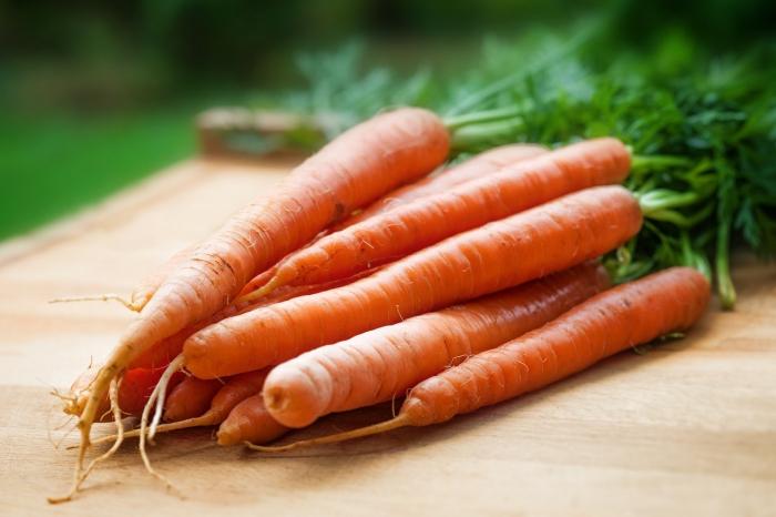 jus de carotte plein de vitamines