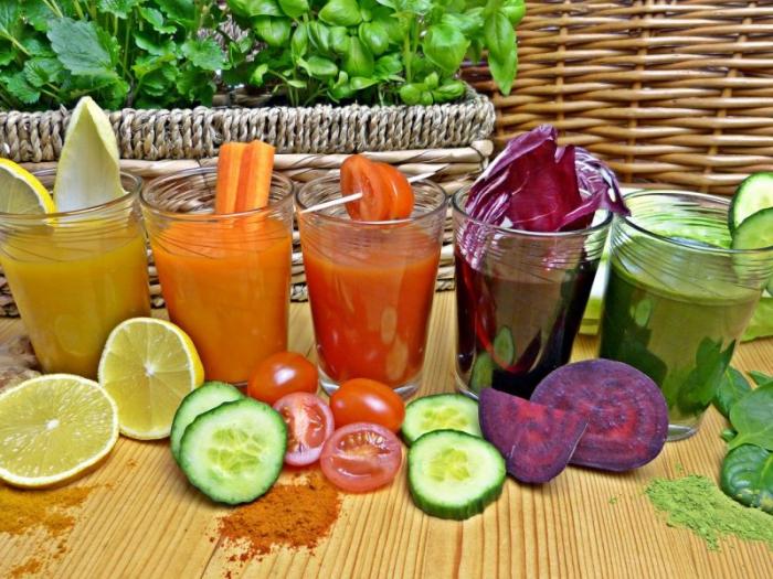 jus de carotte délicieux et vitamineux