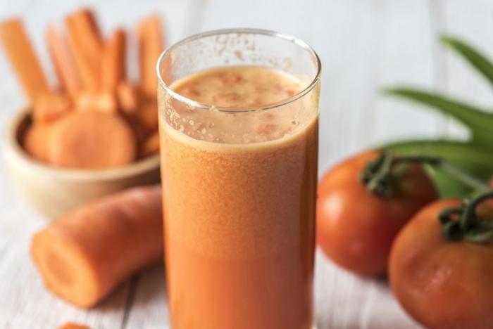 jus de carotte empêche la dégradation des cellules