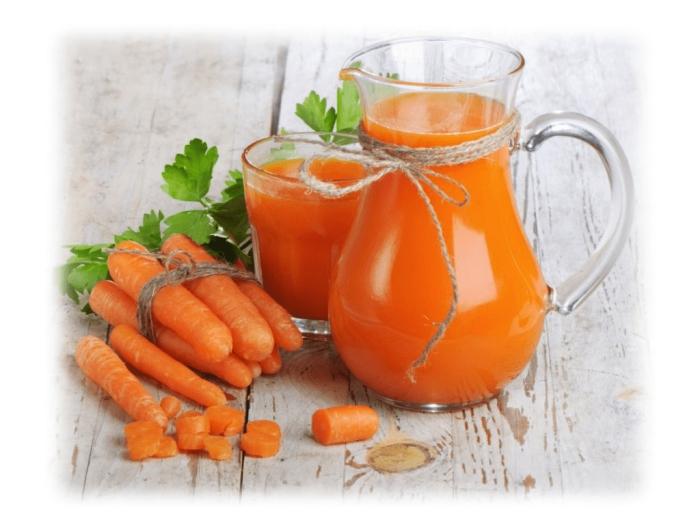 jus de carotte favorise la santé mentale