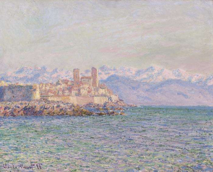 le fort d'antibes Claude Monet atelier des lumières expo 2020 voyages en méditerranée