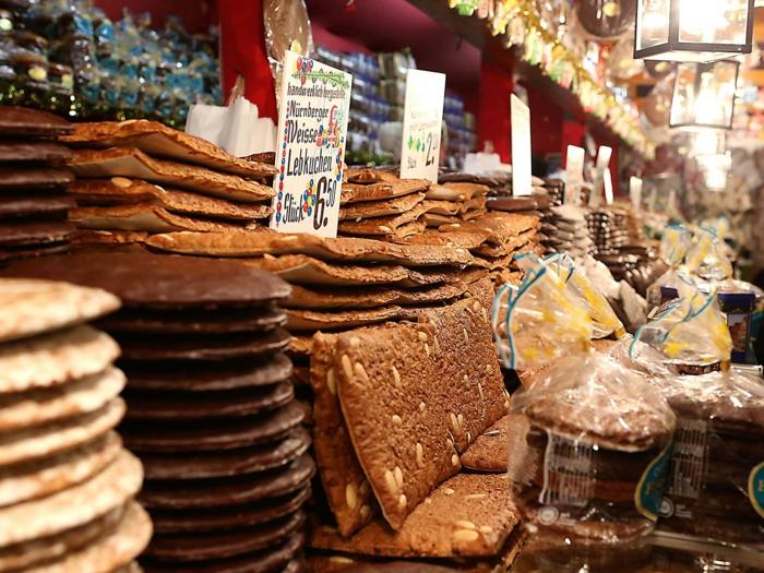 lebkuchen les plus beaux marchés de noël Nuremberg