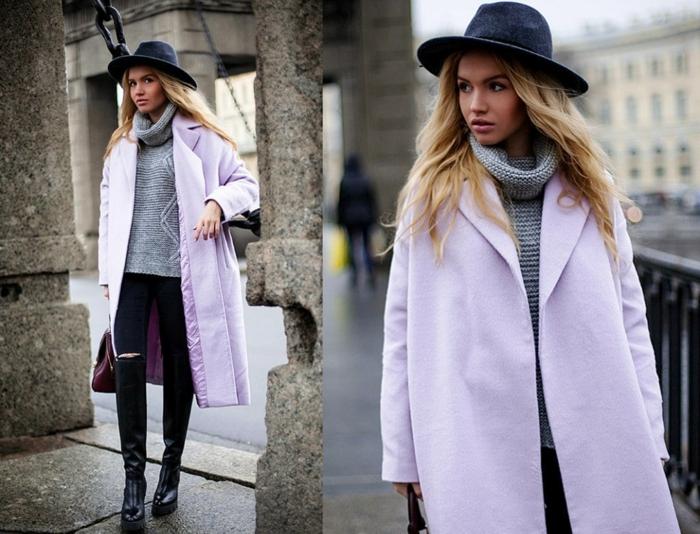 look tendance 2019-2020 chapeau femme hiver