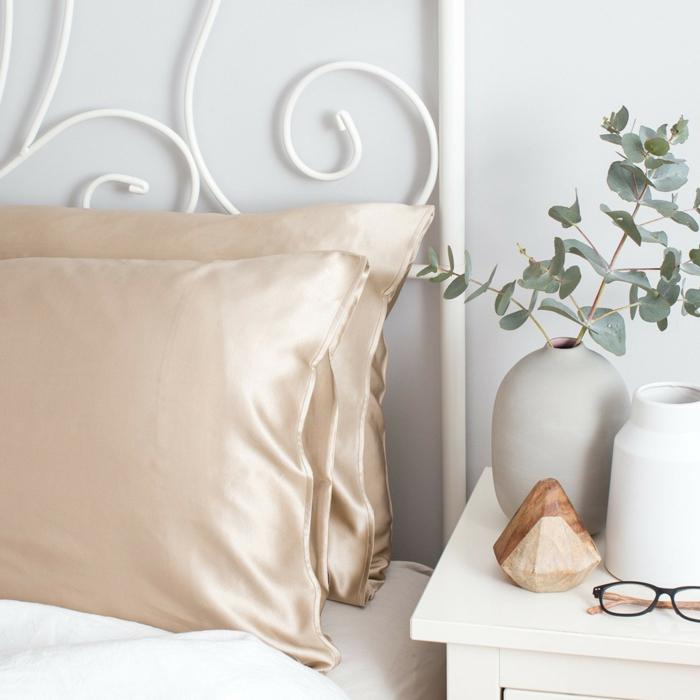 taie d'oreiller en soie avantages