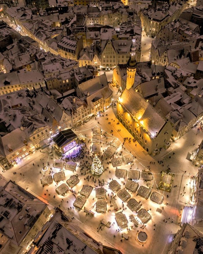 tallinn estonia les plus beaux marchés de noël