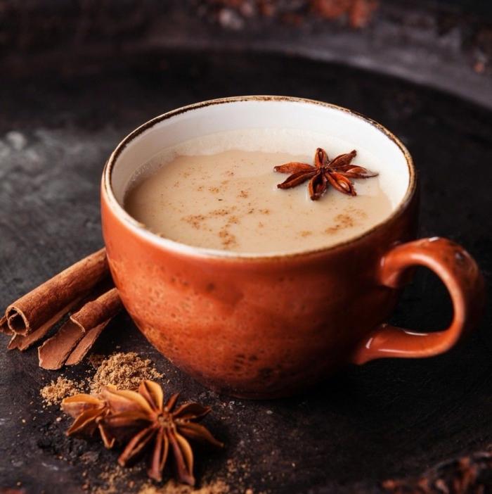 chai tea latte masala chai boissons hivernales