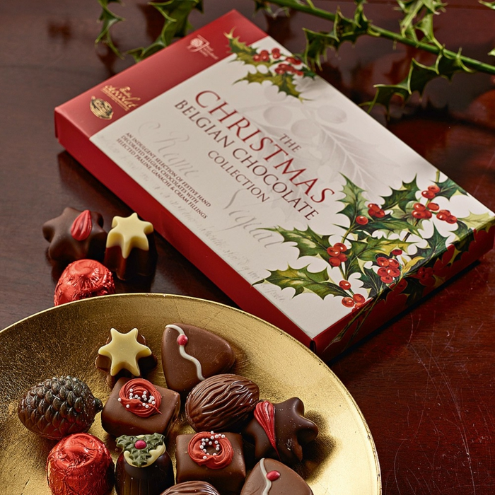 coffret de chocolat idée cadeau secret santa