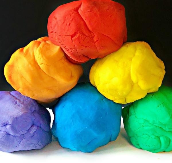 diy savon pâte à modeler colorant alimentaire