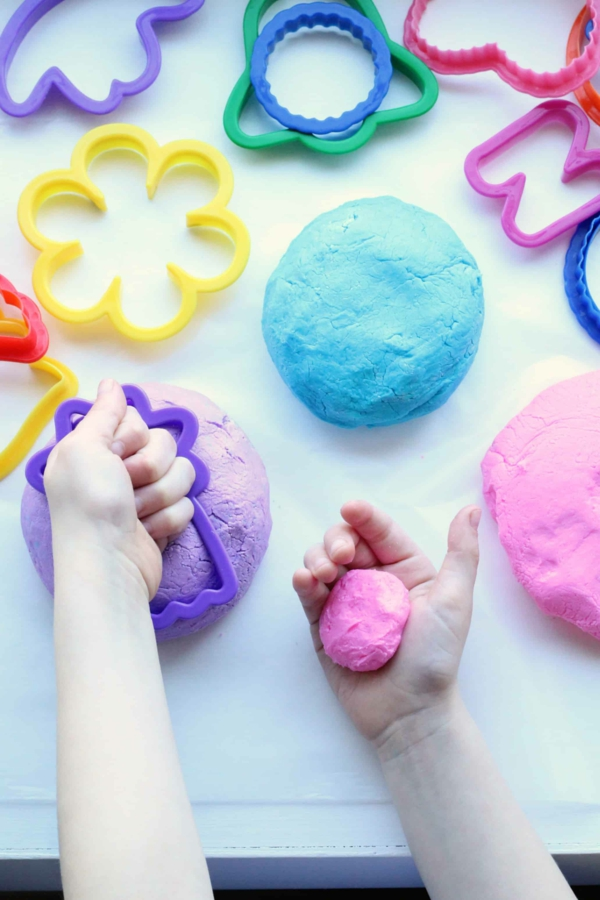 diy savon pâte à modeler en moule