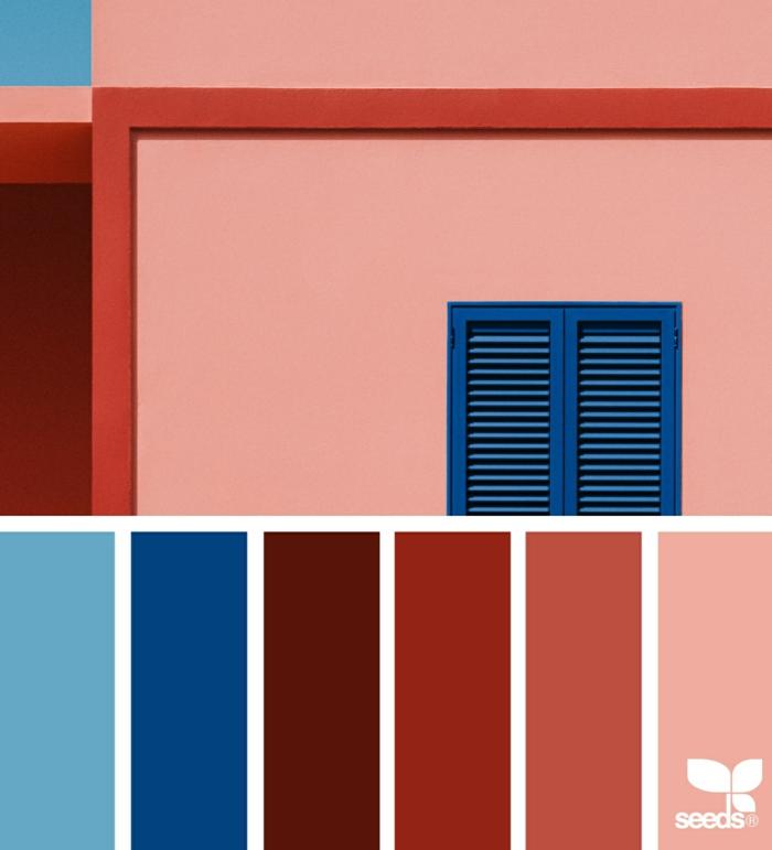 idée d'associations classic blue couleur pantone 2020