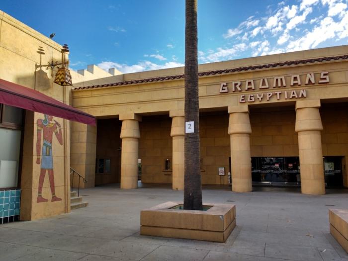 l'Egyptian Theater hollywood netflix