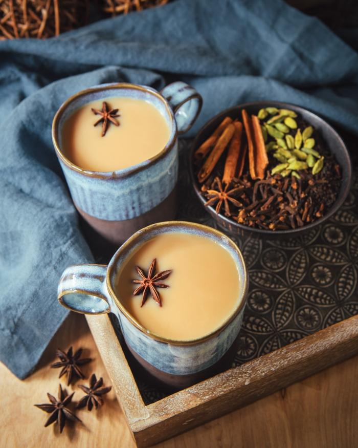 masala chai tea boissons hivernales