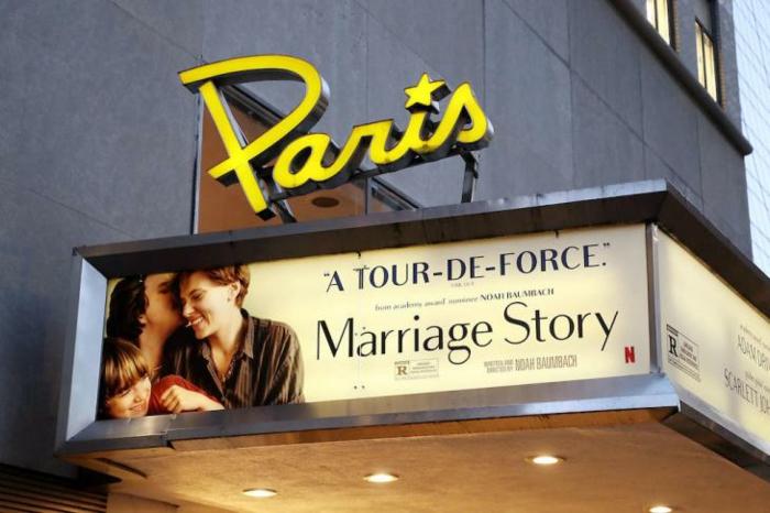 netflix paris theatre new york