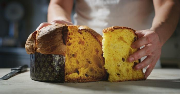 pain délicieux sucré recette panettone