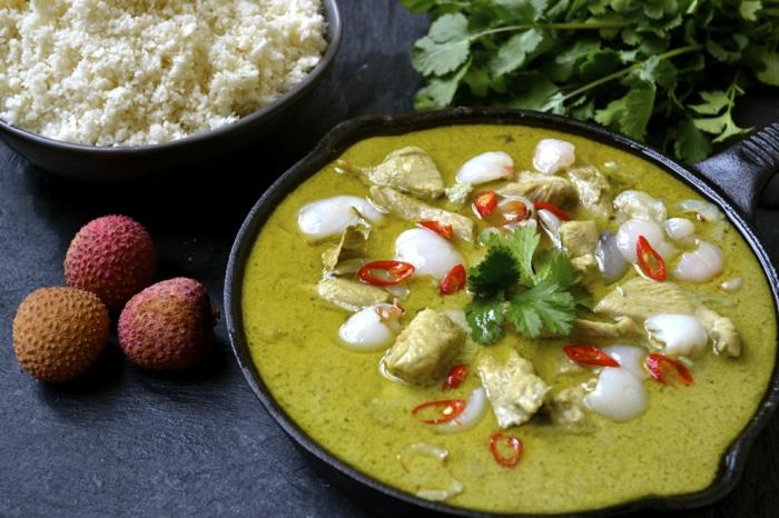 poulet au curry et litchi litchi bienfaits
