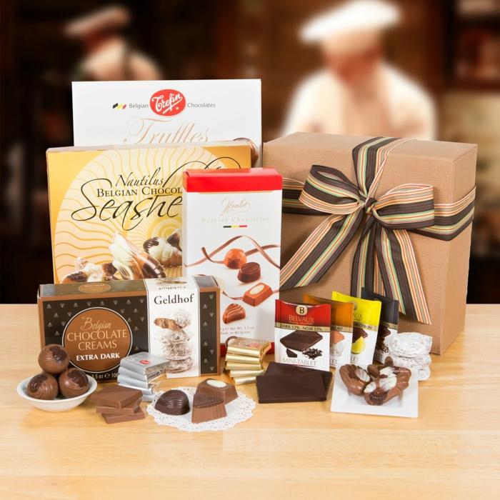 pour les amoureux de chocolat idée cadeau secret santa