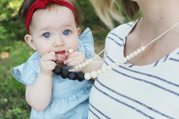 quoi mettre dans un calendrier de l'avent femme enceinte bijoux en silicone alimentaire