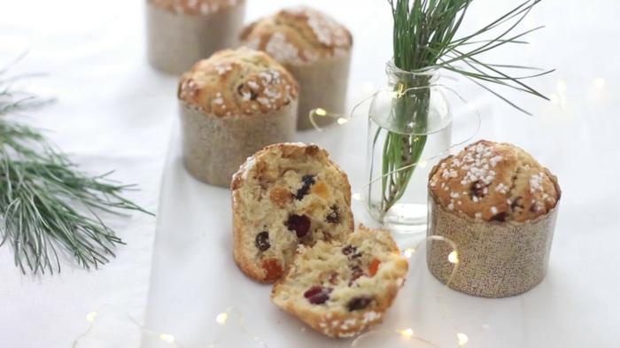 recette panettone muffins idée pour noël