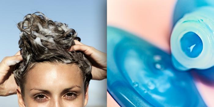 shampoing bleu utilisation
