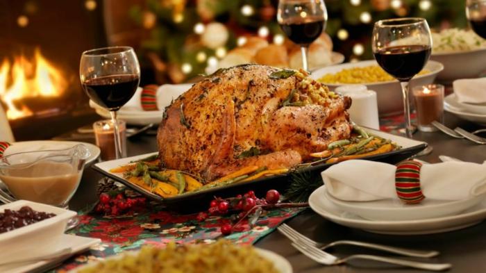 table festive pour noël détoxifier son corps