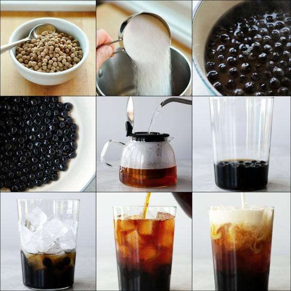 thé aux perles boba méthode de préparation