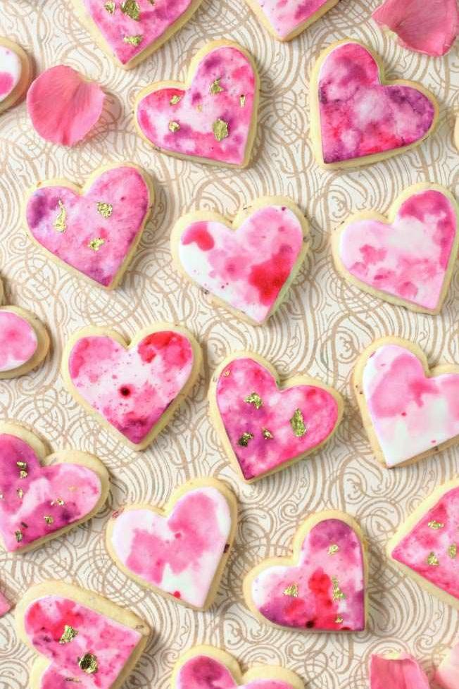 menu de Saint-Valentin goûter les friandises