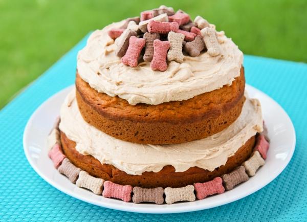 Recette de gâteau d'anniversaire pour chien à la citrouille
