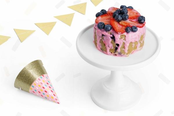 Recette de gâteau d'anniversaire pour chien au noix de coco