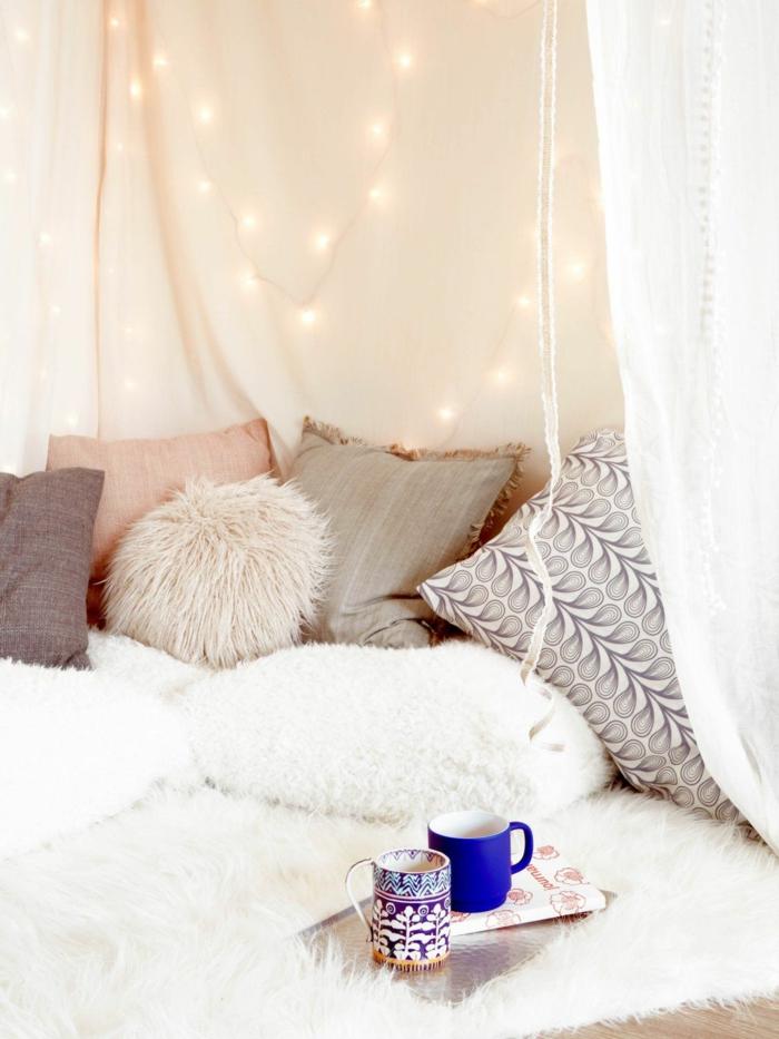 ambiance romantique idée inspirante déco chambre romantique