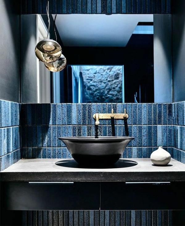 carrelage salle de bain 2020 couleur denim