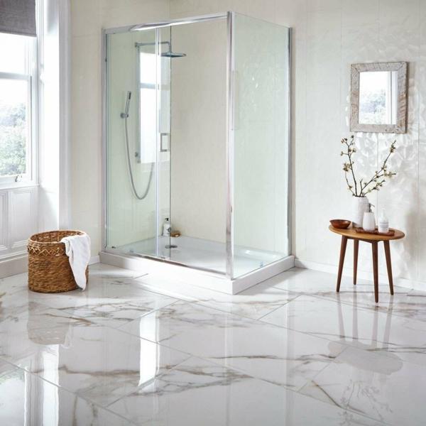 carrelage salle de bain 2020 en marbre