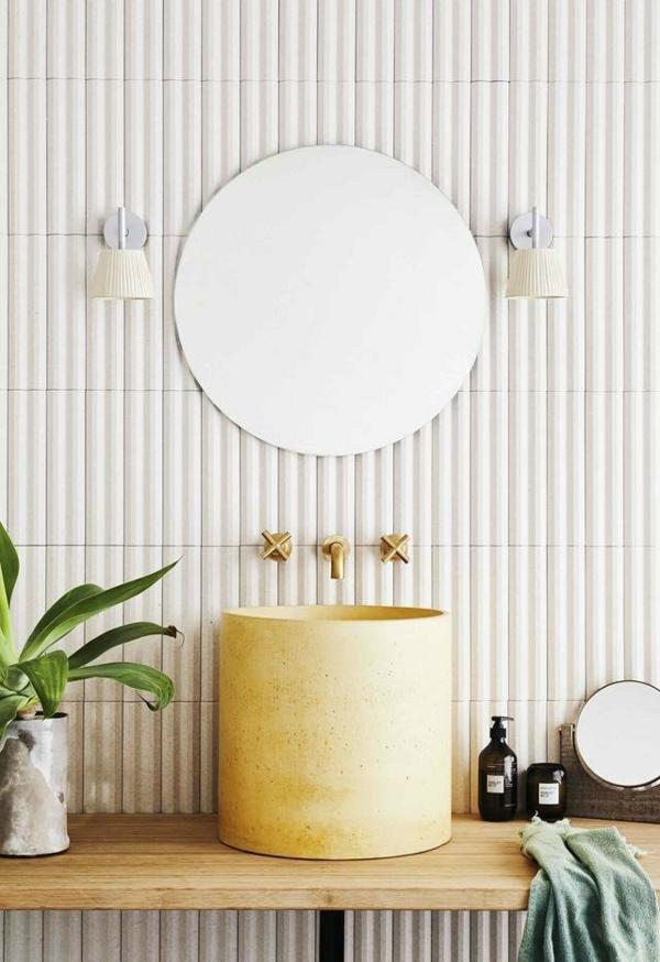 carrelage salle de bain 2020 grès cérame blanc