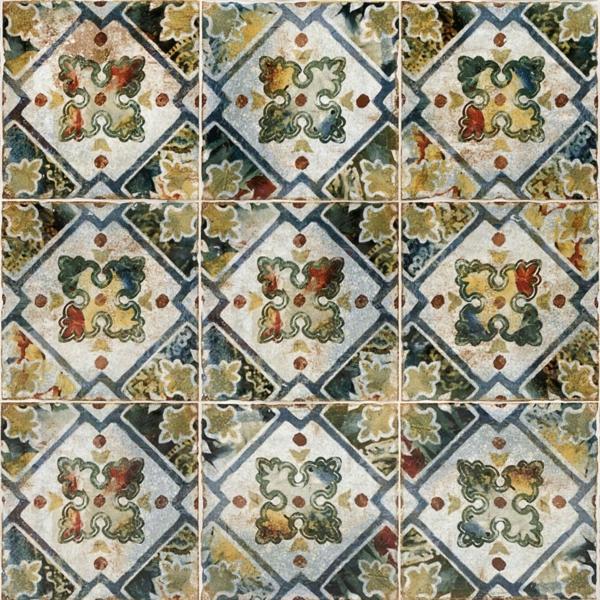 carrelage salle de bain 2020 motifs floraux