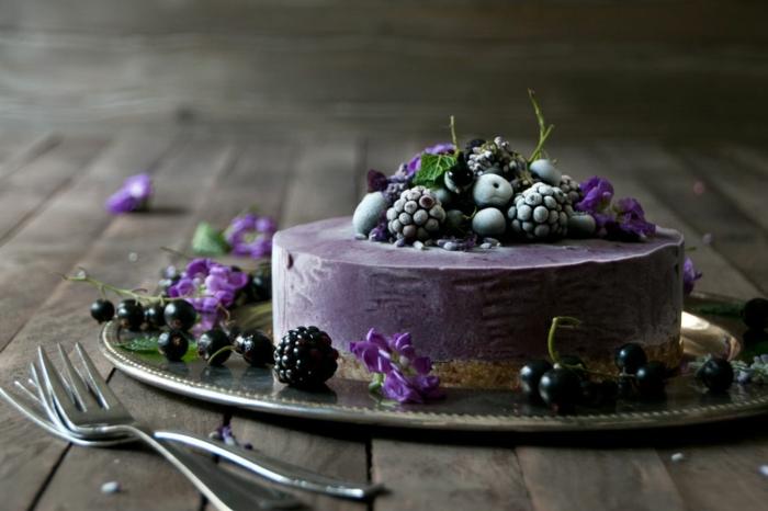 cheesecake Baie d'açaï gâteau
