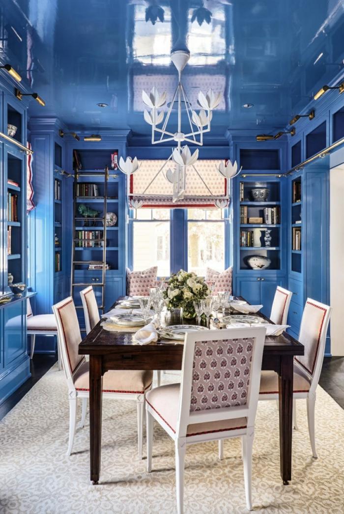 classic bleu cuisine bleu classique pantone 2020 idées