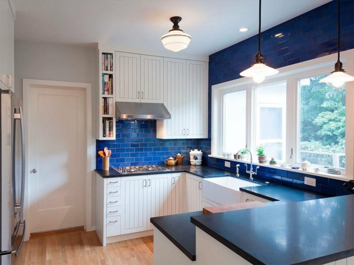 cuisine bleu classique design pantone 2020