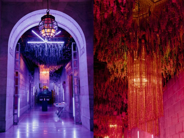 décoration salle de mariage éclairage moderne